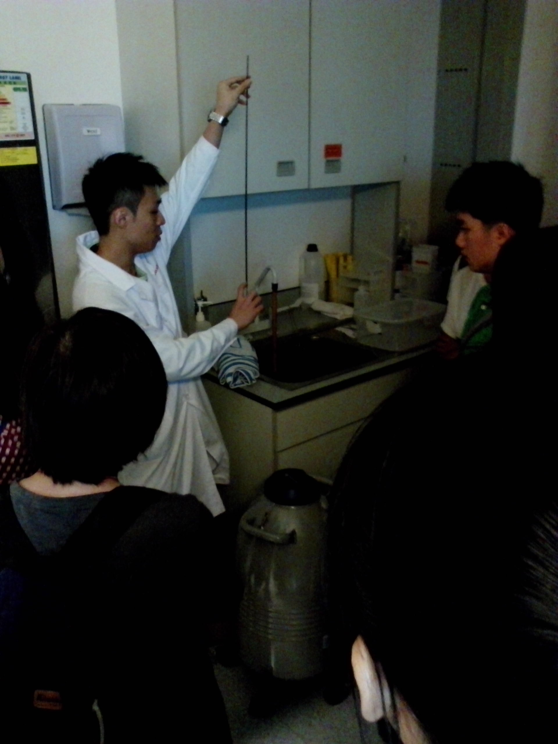 Visit to Laboratories of Department of Psychiatry, Faculty of Medicine, HKU - Photo - 13