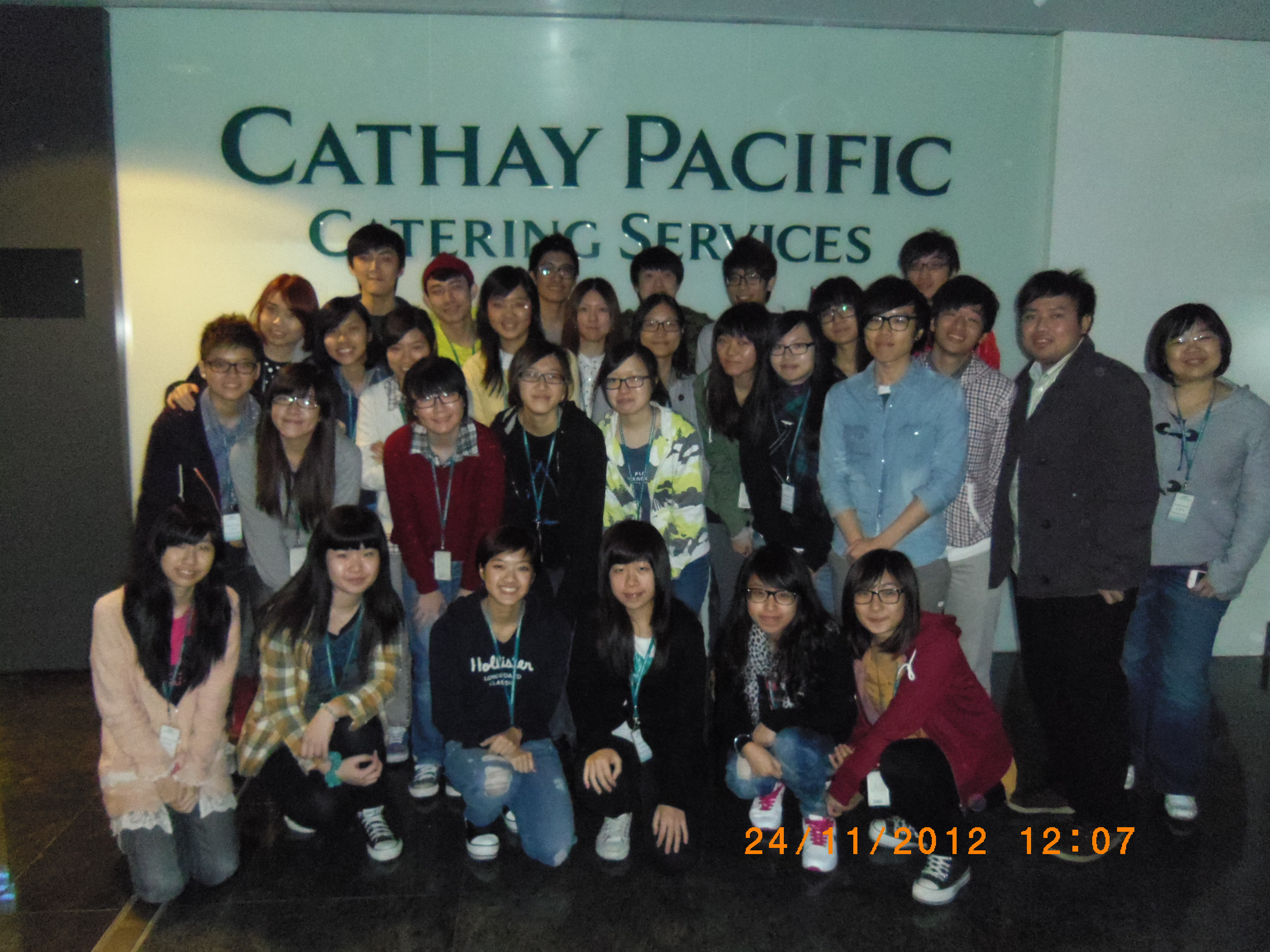 Visit to Cathay Pacific Catering Services in Tung Chung - Photo - 3