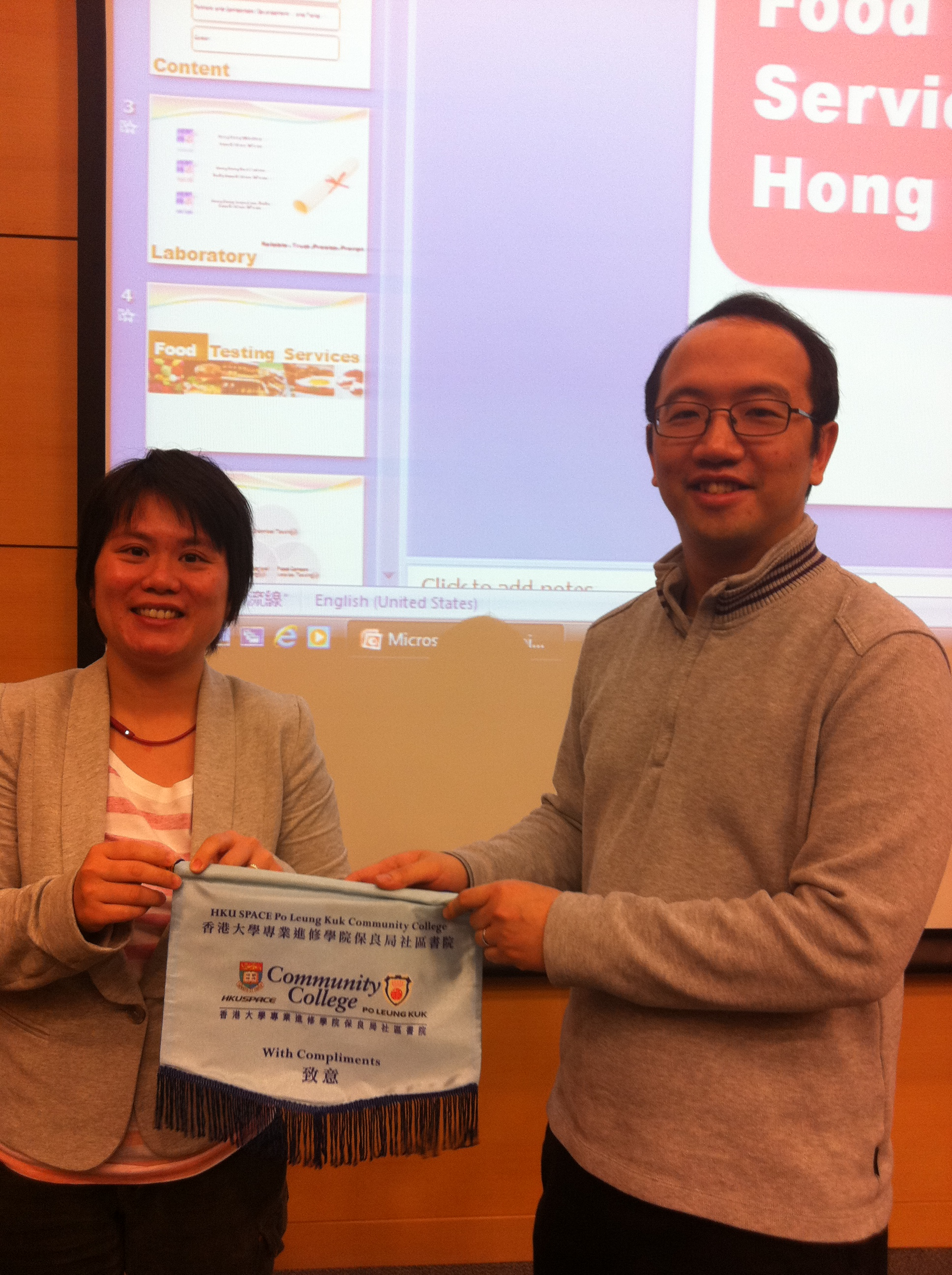 Guest Seminar on Food Testing Industry in Hong Kong - Photo - 5