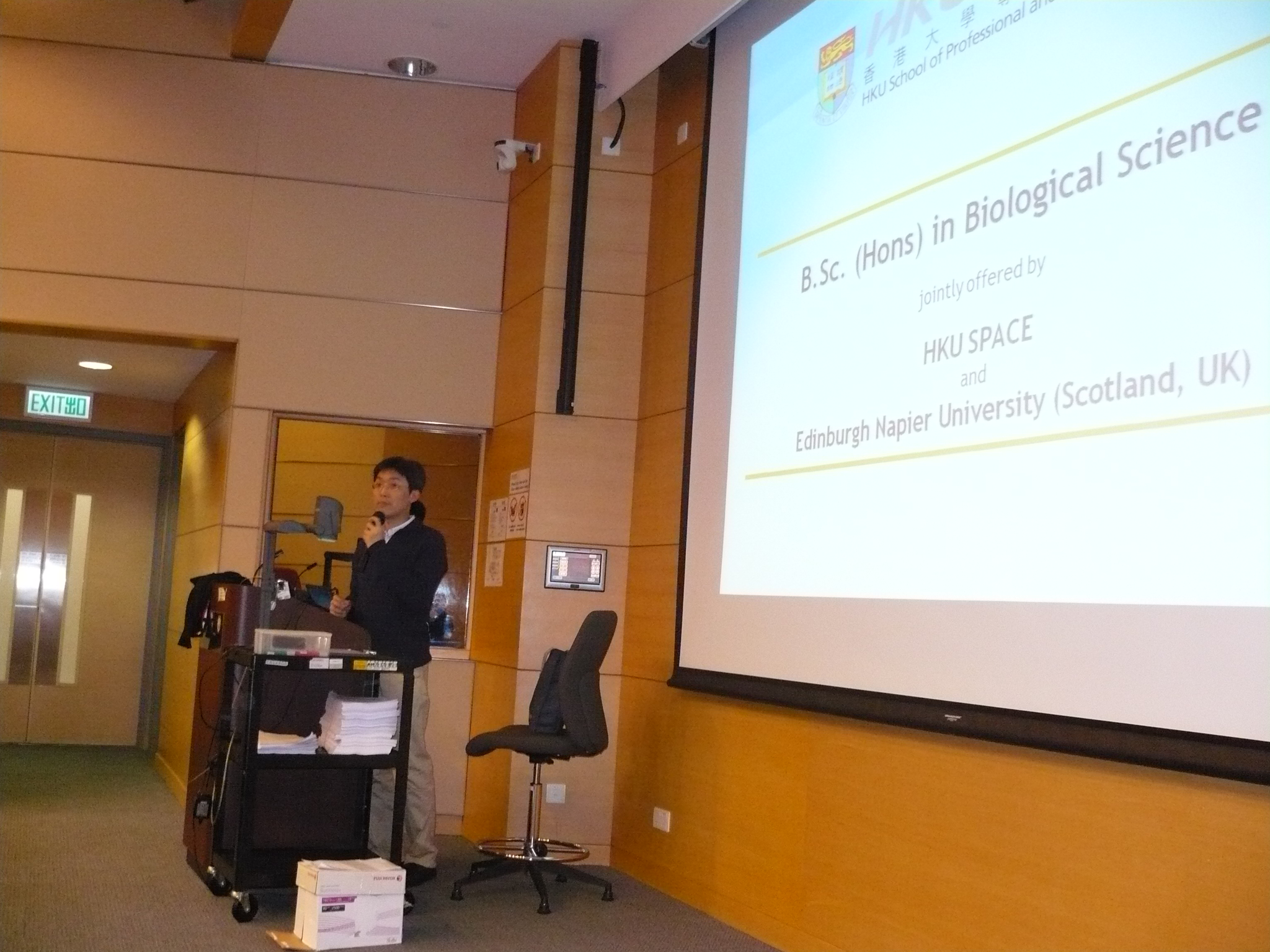 Programme Seminar:  BSc Biological Science, Edinburgh Napier University in collaboration with HKU SPACE - Photo - 15