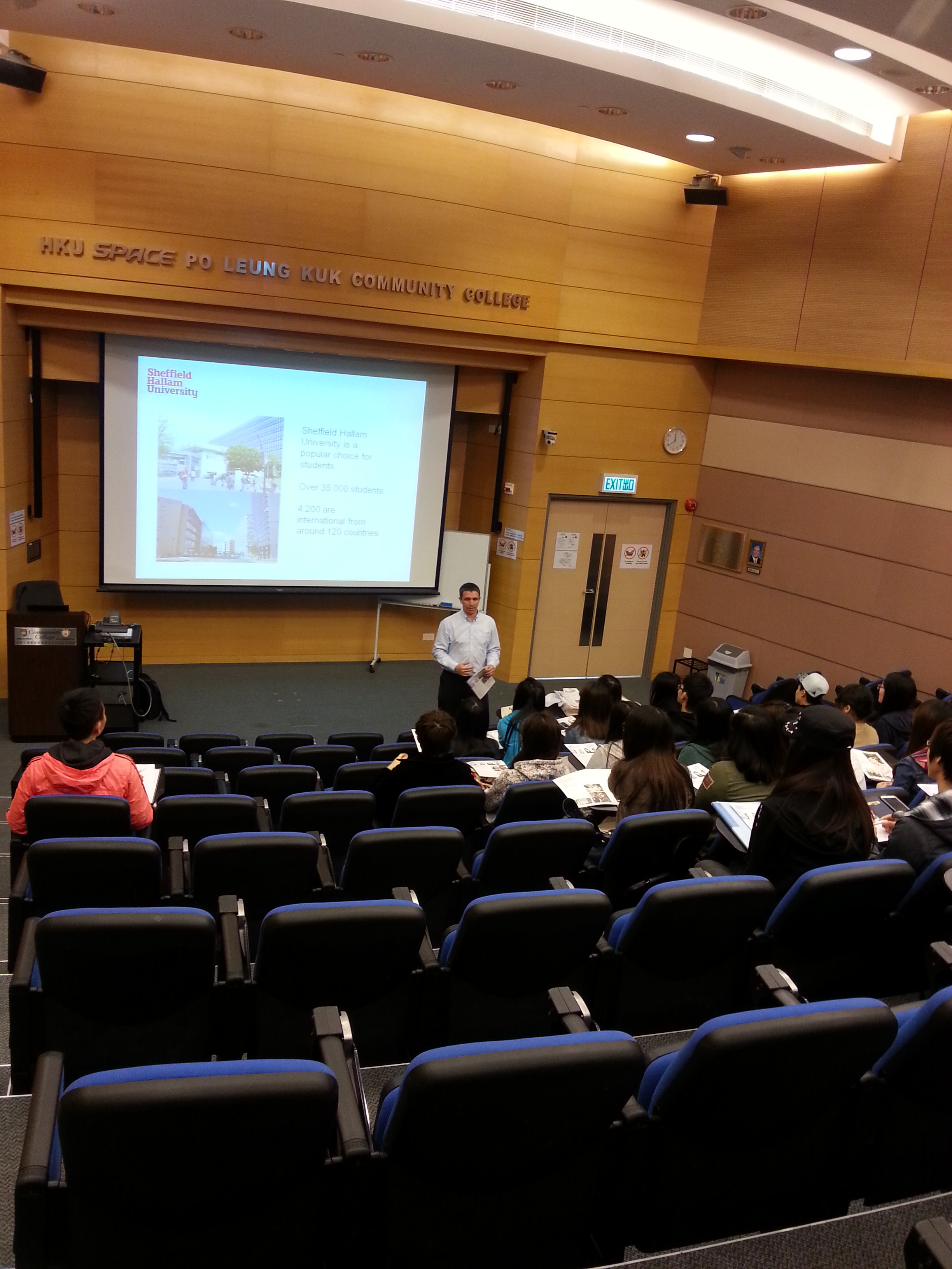 Seminar from Sheffield Hallam University - Photo - 1
