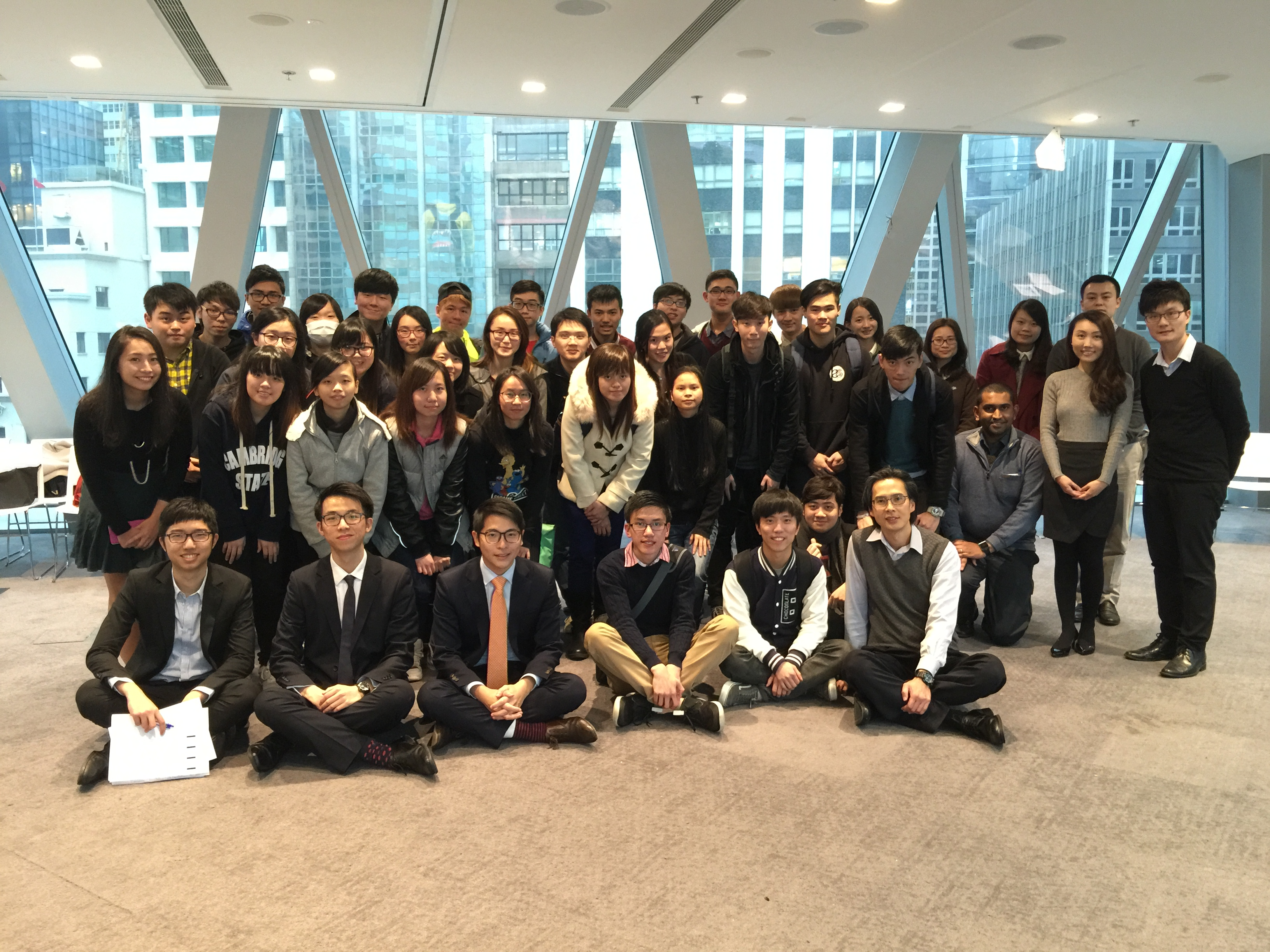 Visit to the Standard Chartered Bank - Photo - 1
