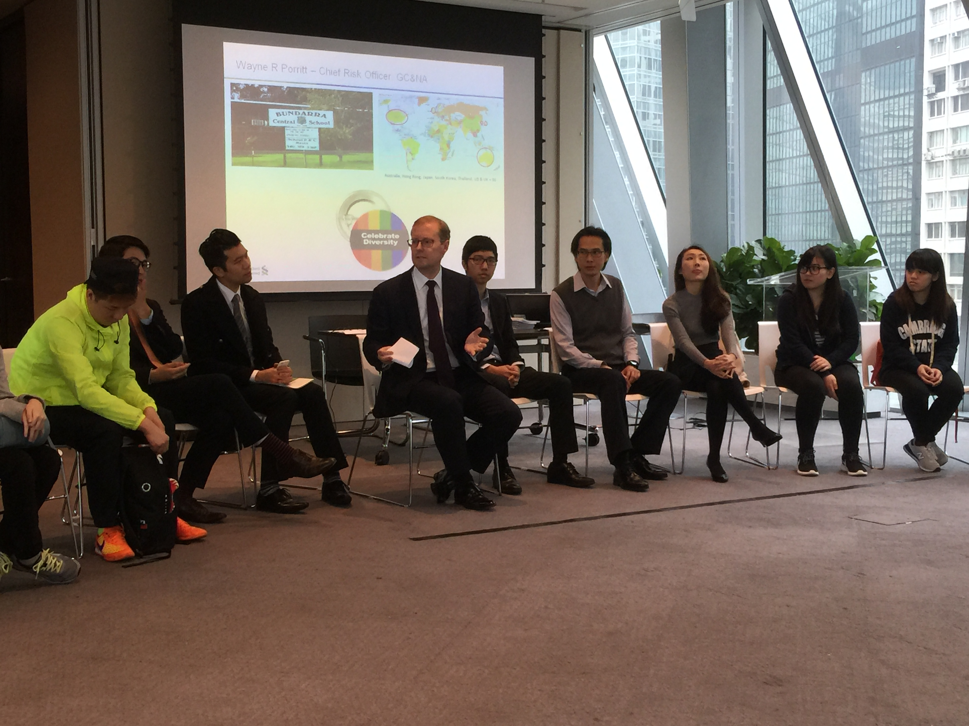 Visit to the Standard Chartered Bank - Photo - 5