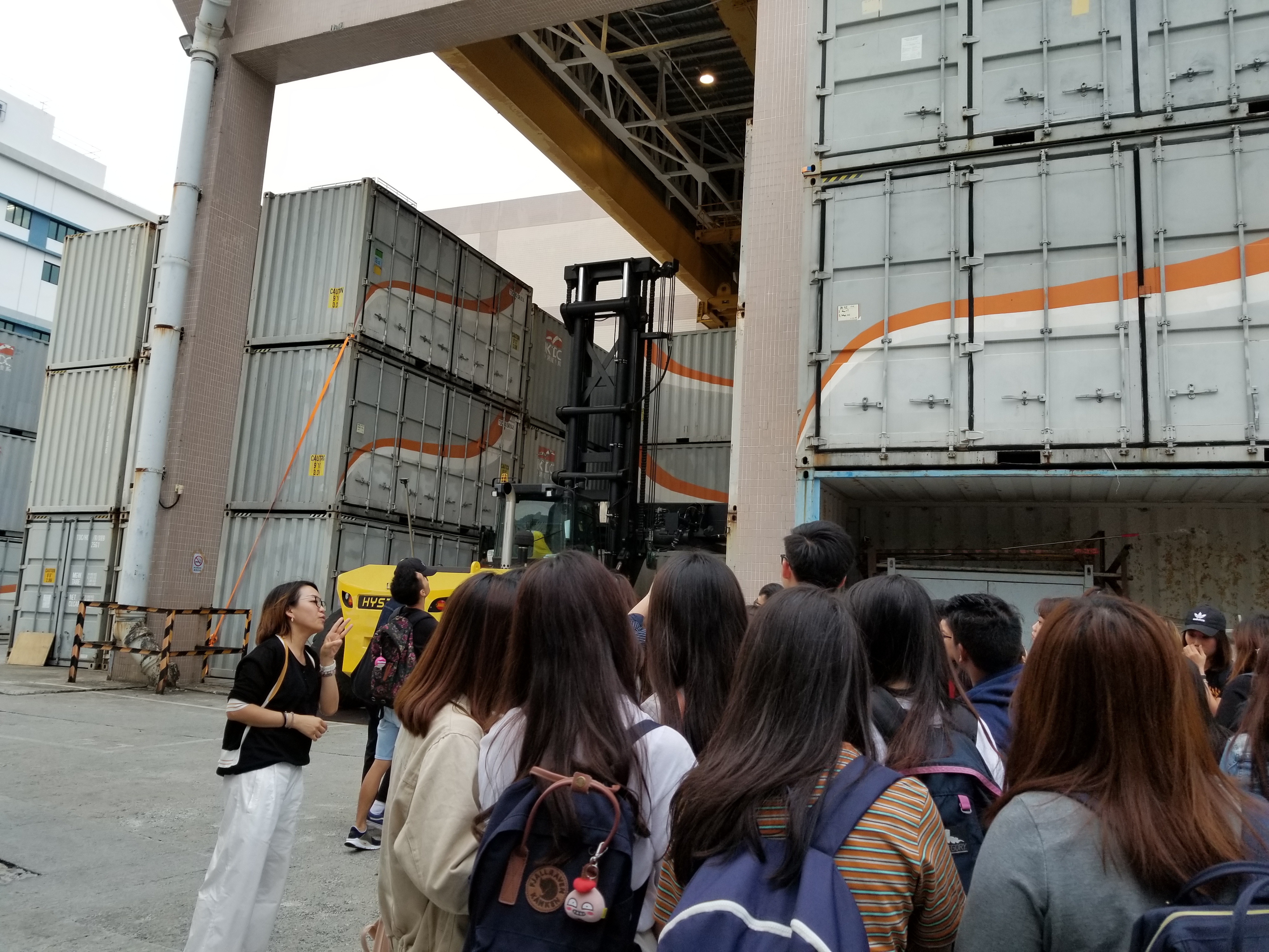 Site Visit to HKTDC Exhibition Services and Logistics Centre - Photo - 7