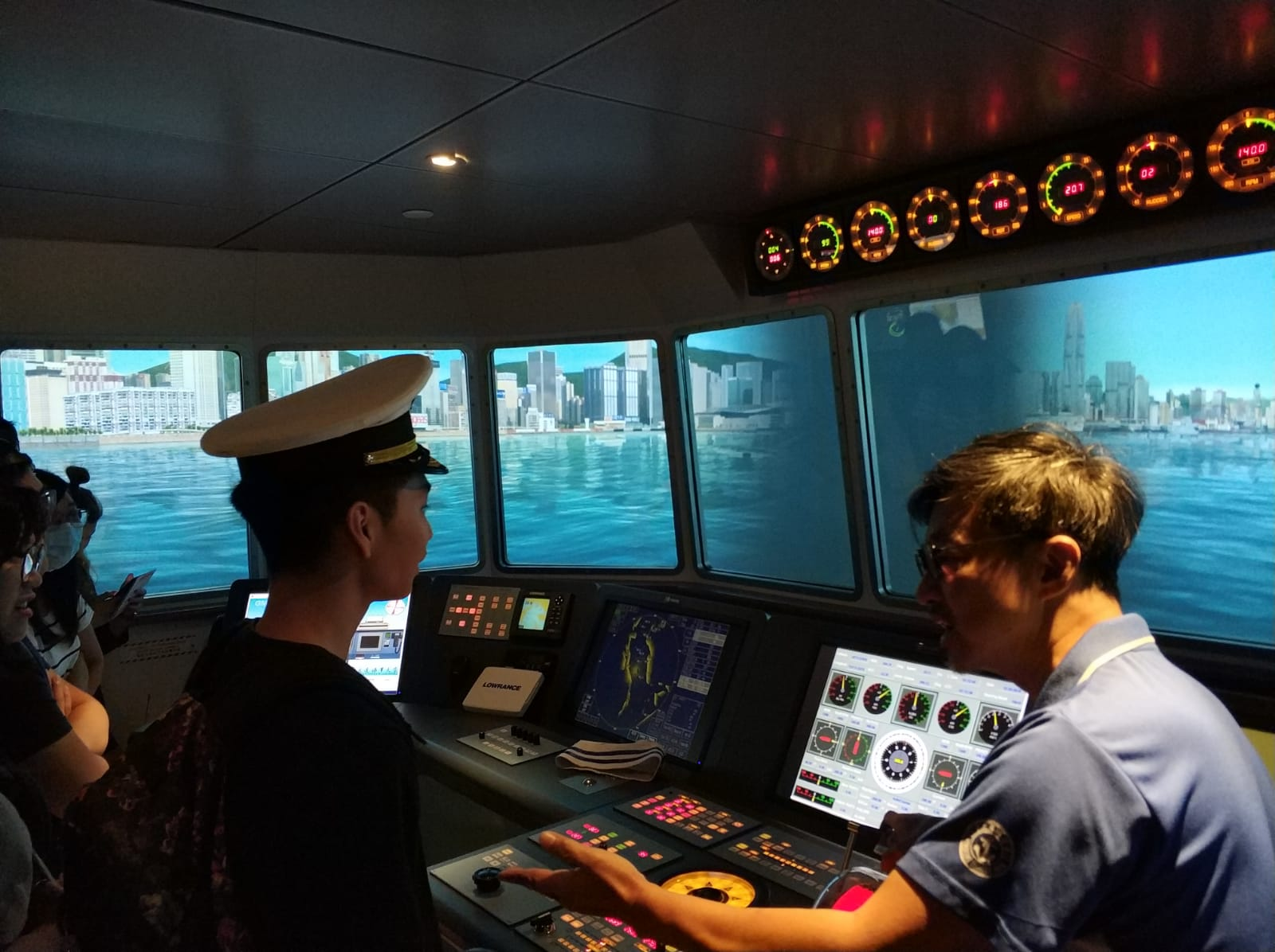Visit to Hong Kong Maritime Museum - Photo - 9