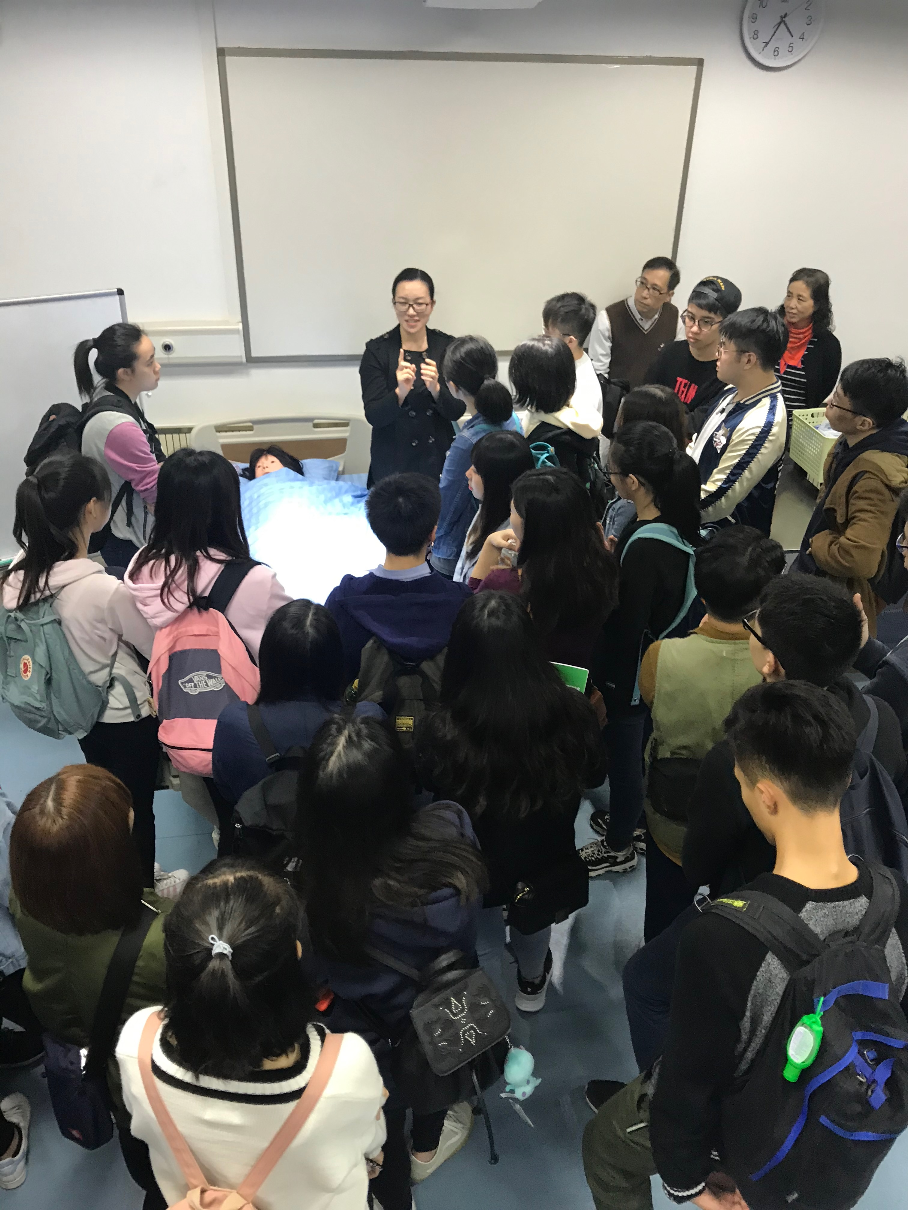 2019 Attachment training programme at the School of Nursing of Shenzhen University - Photo - 3