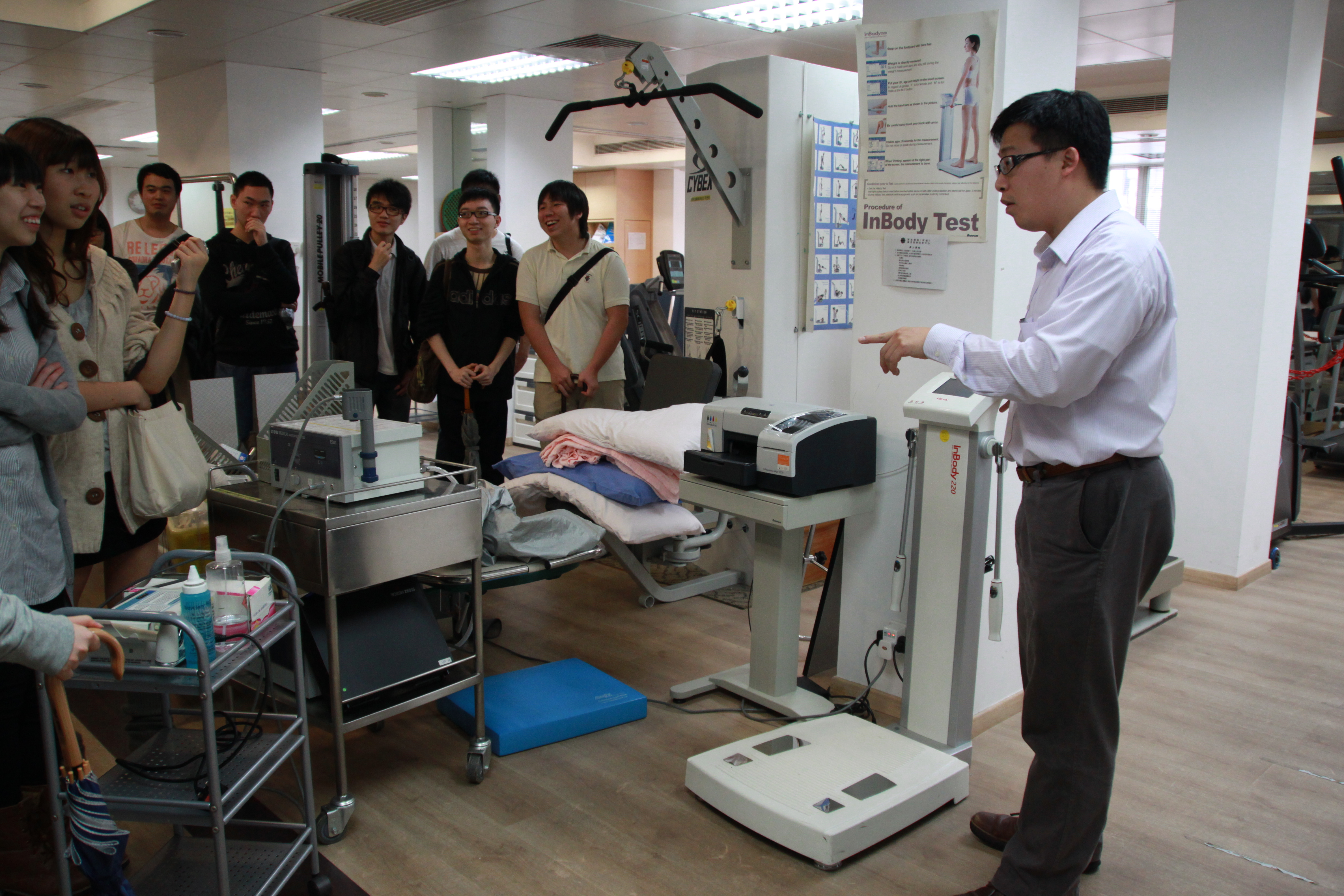 Visit to the Precious Blood Hospital (HD in Medical and Health Products Management programme) - Photo - 5
