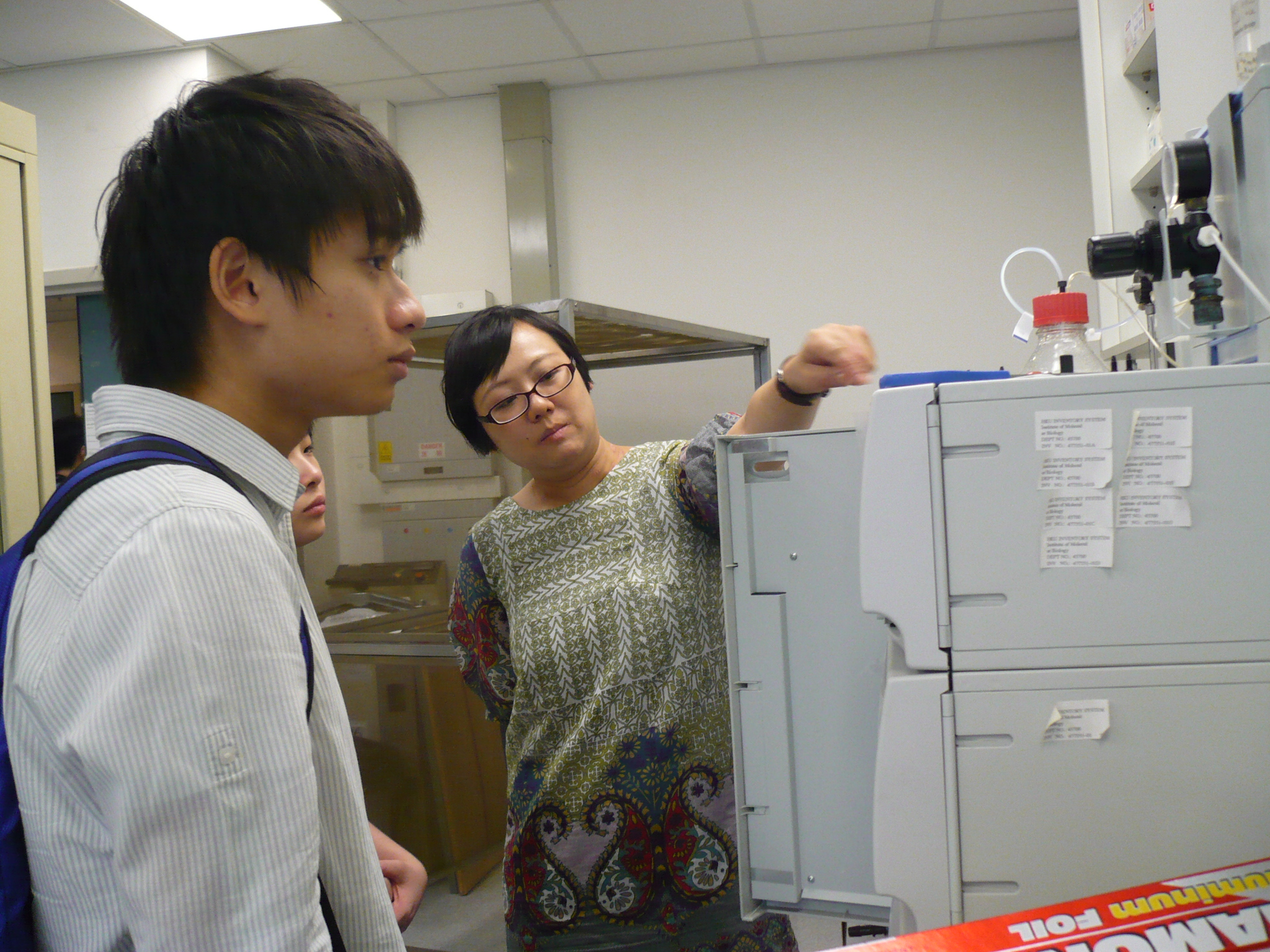 Visit to Laboratories of HKU  (for Year 1 Students of the Higher Diploma in Medical and Health Products Management Programme) - Photo - 21