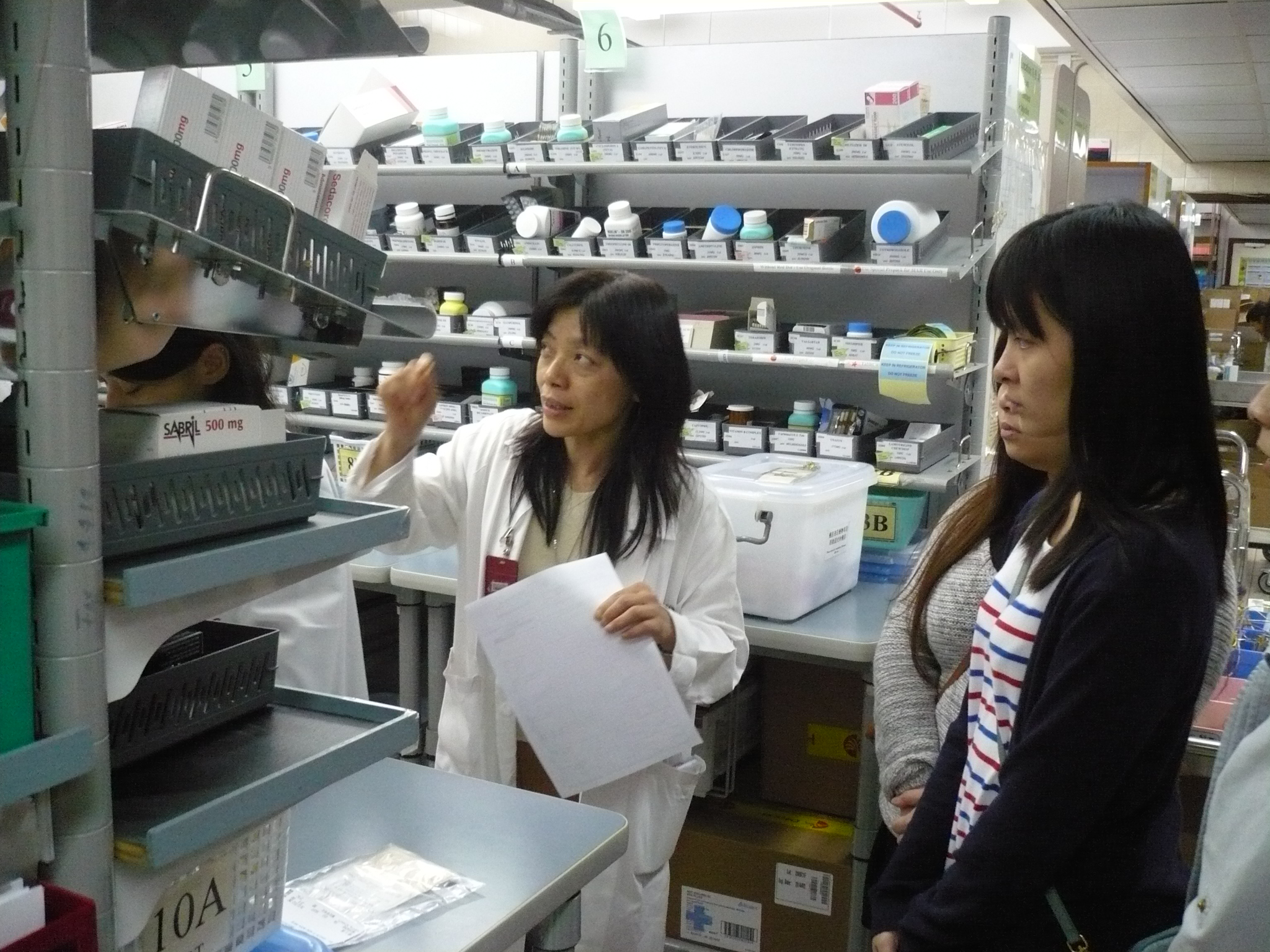 Visit to the Pharmacy Department of Caritas Medical Centre - Photo - 27